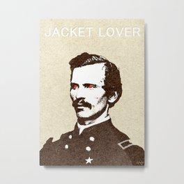 - jacket lover - Metal Print