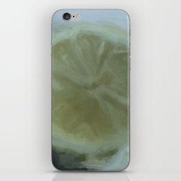 Slice of Lemon – Watercolour iPhone Skin