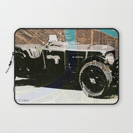 1930 classic car on old usa map Laptop Sleeve