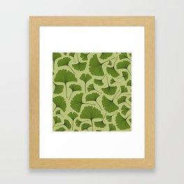 GINKGO LEAF Framed Art Print