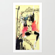 Queen Destructo Art Print