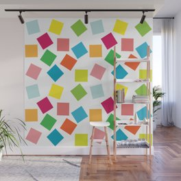 Seamless patchwork pattern Wall Mural