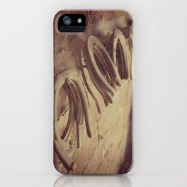 Horseshoes iPhone Case