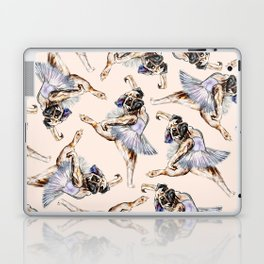 Pug Ballerina in Dog Ballet | Swan Lake  Laptop & iPad Skin