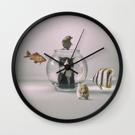 Curiosity killed the cat Wall Clock