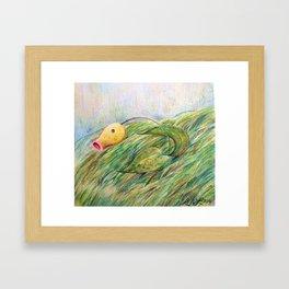 Bellsprout In Tall Grass Framed Art Print
