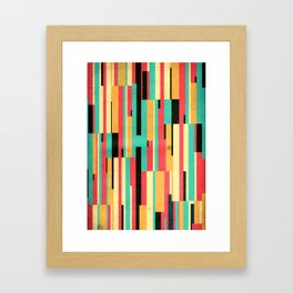 Kiko Pattern Framed Art Print