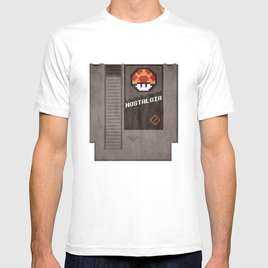 Nostalgia in a Nintendo Cartridge T-shirt