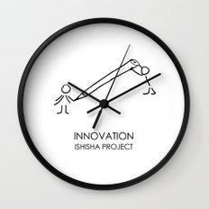 INNOVATION by ISHISHA PROJECT Wall Clock