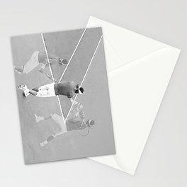 Rafa's running backhand Stationery Cards