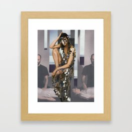 At My Edge Framed Art Print