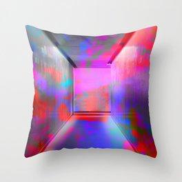 Space Graffiti Throw Pillow