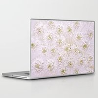 lace Laptop & iPad Skins featuring Lace by Jacky Parker Floral Art