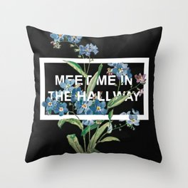 Harry Styles Meet Me In The Hallway Artwork Throw Pillow