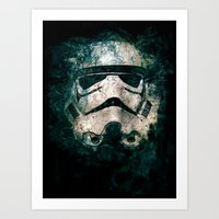 trooper Art Prints featuring Trooper by Sirenphotos