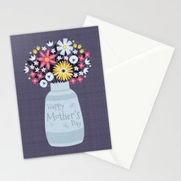 Mother's Day Bouquet Stationery Cards