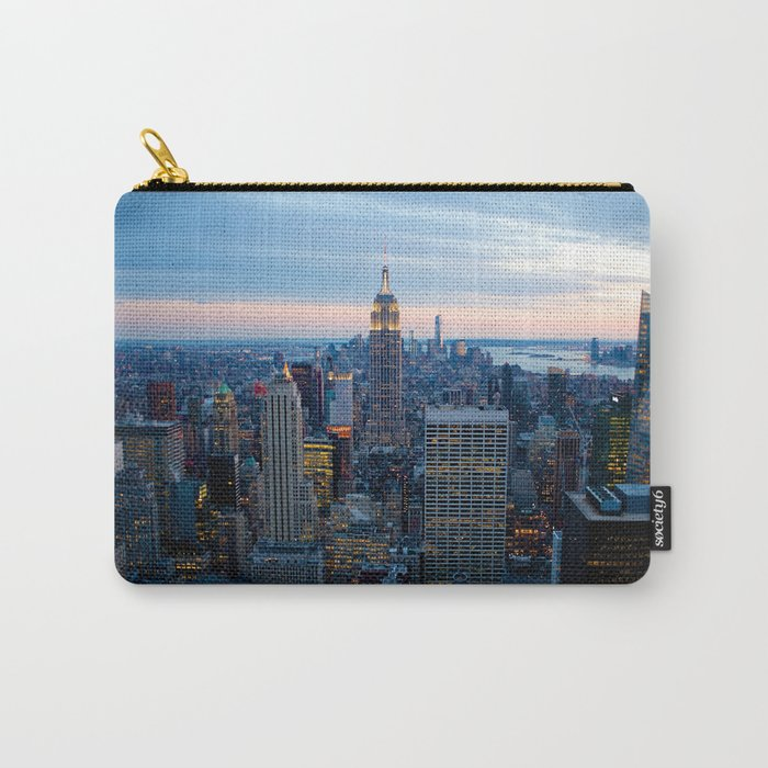 New York City Dusk Carry-All Pouch