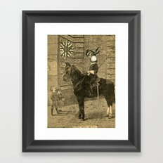 Neither Sorrow Nor Fear Framed Art Print