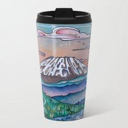 Loowit Sunset Metal Travel Mug