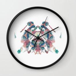 Inkdala XV - Ink Blot Wall Clock