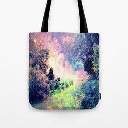Pastel Fantasy path Tote Bag
