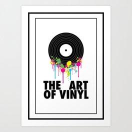 The Art of Vinyl Art Print