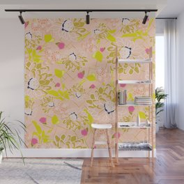 Energizing spring summer flowers Wall Mural