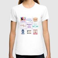 "regina mills T-shirts featuring Regina ""Sassy"" Mills by CLM Design"
