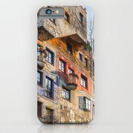 Hundertwasserhaus Vienna Austria iPhone Case