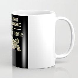 Endangered Species Of Sea Turtle Coffee Mug