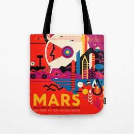 Fantasy Tour of Mars Tote Bag