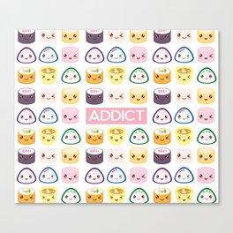 Sushi Addict Canvas Print