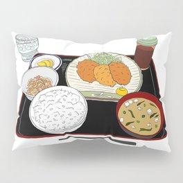 Japanese Tonkatsu Bento Pillow Sham
