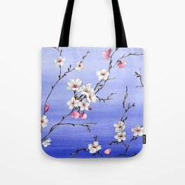 Japanese Blossom Tote Bag