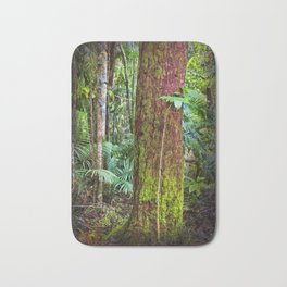 New and old rainforest growth Bath Mat