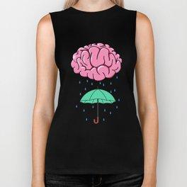 Problem Solving or Brainstorming Tshirt Design Brainstorm umbrella Biker Tank