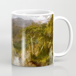 Frederic Edwin Church - The Heart of the Andes - Hudson River School Oil Painting Coffee Mug