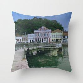 Sao Francisco do Sul Throw Pillow