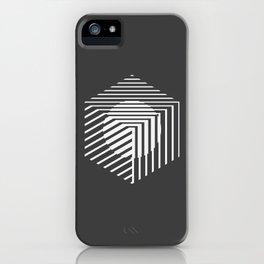 MINIMALISSIMO-CUBE iPhone Case