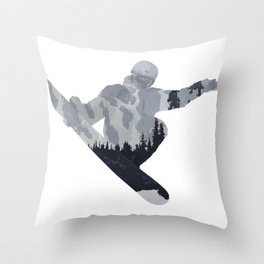 Snowboard Exposure SP | DopeyArt Throw Pillow