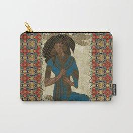 The Musician Egyptian Theban Folk Art Carry-All Pouch