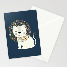 As A Lion Stationery Cards