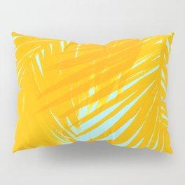 Palms Tangerine & Blue Pillow Sham