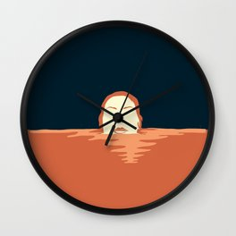 I disappeared Wall Clock