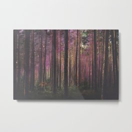 COSMIC FOREST UNIVERSE Metal Print