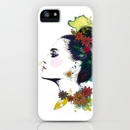 Profil iPhone Case