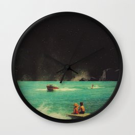 Thassos Wall Clock