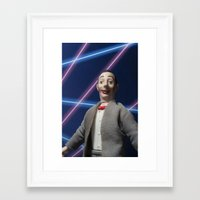 pee wee Framed Art Prints featuring Pee-Wee School Photo by elkfoot