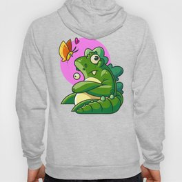 Unamused Godzilla Hoody