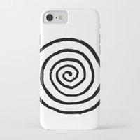 fibonacci iPhone & iPod Cases featuring Fibonacci by Geryes
